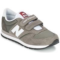 Cipők Gyerek Rövid szárú edzőcipők New Balance KE420 Szürke / Fekete