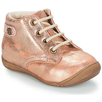 Cipők Lány Csizmák GBB NICOLE Rózsaszín