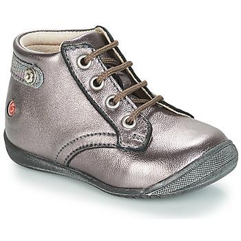 Cipők Lány Csizmák GBB NICOLE Lila / Fémes