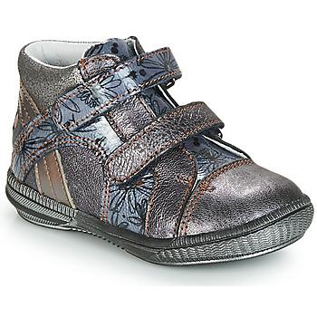 Cipők Lány Csizmák GBB ROXANE Girs / Kék