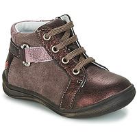 Cipők Lány Csizmák GBB RICHARDINE Barna / Bronz
