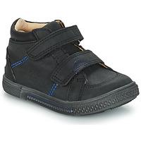 Cipők Fiú Magas szárú edzőcipők GBB ROBERT Fekete