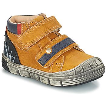 Cipők Fiú Csizmák GBB REMI Citromsárga
