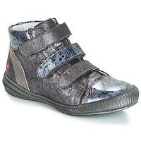 Cipők Lány Magas szárú edzőcipők GBB RAFAELE Ezüst