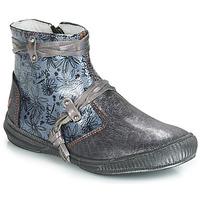 Cipők Lány Csizmák GBB REVA Szürke / Kék