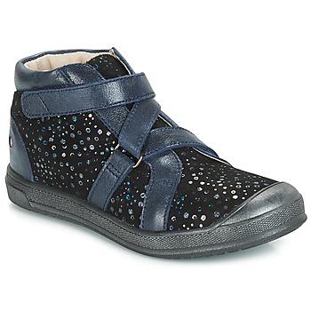 Cipők Lány Magas szárú edzőcipők GBB NADEGE Kék