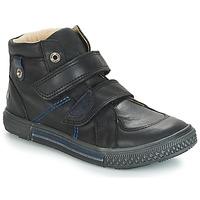 Cipők Fiú Magas szárú edzőcipők GBB RANDALL Fekete