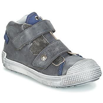 Cipők Fiú Magas szárú edzőcipők GBB ROMULUS Szürke / Kék