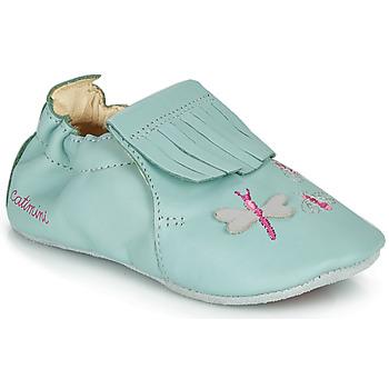 Cipők Lány Mamuszok Catimini RHIZINE Kék