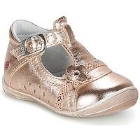 Cipők Lány Balerina cipők / babák GBB SIXTINE Rózsaszín / Arany