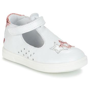 Cipők Lány Balerina cipők  GBB SABRINA Fehér