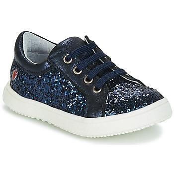 Cipők Lány Rövid szárú edzőcipők GBB SAMANTHA Kék