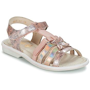 Cipők Lány Szandálok / Saruk GBB SCARLET Rózsaszín