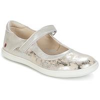 Cipők Lány Balerina cipők / babák GBB PLACIDA Bézs / Ezüst