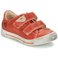 Cipők Fiú Rövid szárú edzőcipők GBB SEBASTIEN Piros