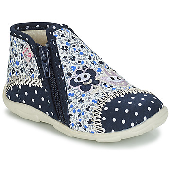 Cipők Lány Mamuszok GBB PILI Kék / Fehér
