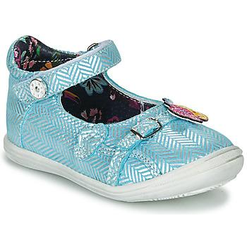 Cipők Lány Balerina cipők / babák Catimini SITELLE Vte / Égkék-ezüst / Dpf / 2851
