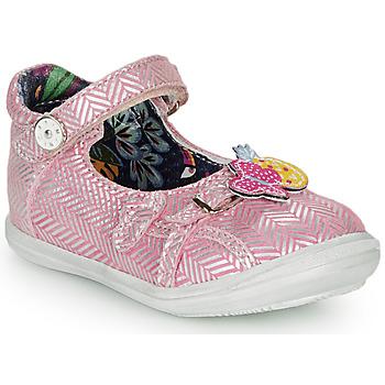 Cipők Lány Balerina cipők / babák Catimini SITELLE Vte / Rózsaszín-ezüst / Dpf / 2851