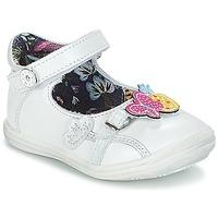 Cipők Lány Balerina cipők  Catimini SITELLE Fehér