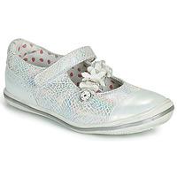 Cipők Lány Balerina cipők / babák Catimini STROPHAIRE Vte / Ezüst / Dpf / 2851