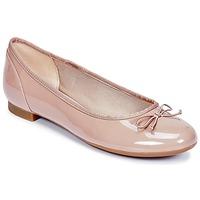 Cipők Női Balerina cipők / babák Clarks COUTURE BLOOM Bőrszínű / Lakkozott