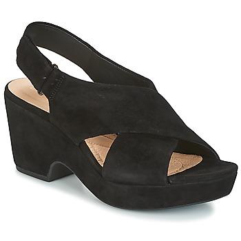 Cipők Női Szandálok / Saruk Clarks MARITSA LARA Fekete