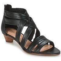 Cipők Női Szandálok / Saruk Clarks MENA SILK Fekete