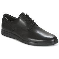 Cipők Férfi Oxford cipők Clarks VENNOR WALK Fekete