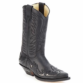 Cipők Városi csizmák Sendra boots CLIFF Fekete
