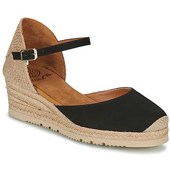 Cipők Női Szandálok / Saruk Unisa CISCA Fekete