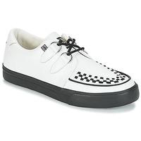 Cipők Rövid szárú edzőcipők TUK CREEPERS SNEAKERS Fehér / Fekete