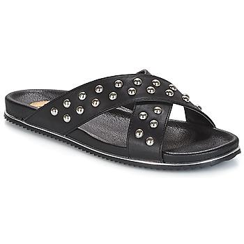Cipők Női Papucsok Buffalo ALOLAJEP Fekete