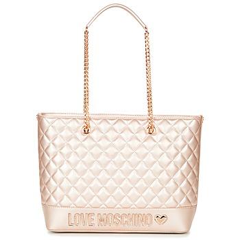 Táskák Női Bevásárló szatyrok / Bevásárló táskák Love Moschino JC4003PP15 Rózsaszín / Arany