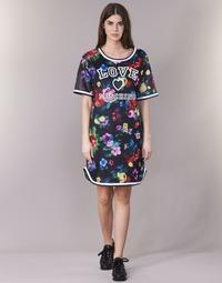 Ruhák Női Rövid ruhák Love Moschino W5A0302 Fekete  / Sokszínű
