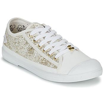 Cipők Női Rövid szárú edzőcipők Le Temps des Cerises BASIC 02 Arany