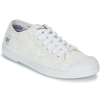 Cipők Női Rövid szárú edzőcipők Le Temps des Cerises BASIC 02 Fehér