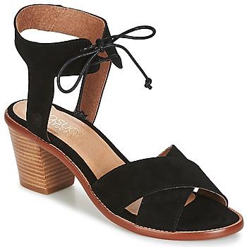 Cipők Női Szandálok / Saruk Casual Attitude ITELO Fekete