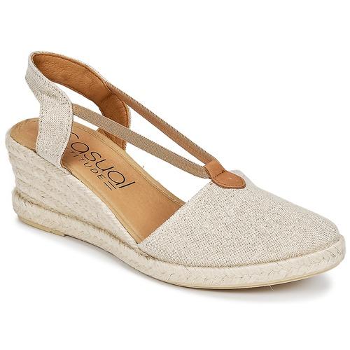 Cipők Női Gyékény talpú cipők Casual Attitude IPOP Arany