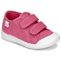 Cipők Lány Rövid szárú edzőcipők Citrouille et Compagnie GLASSIA Rózsaszín