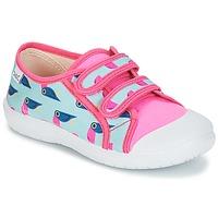 Cipők Lány Rövid szárú edzőcipők Citrouille et Compagnie GLASSIA Sokszínű
