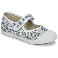 Cipők Lány Balerina cipők  Citrouille et Compagnie APSUT Kék / Fehér