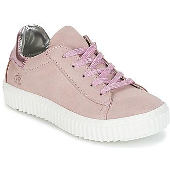 Cipők Lány Rövid szárú edzőcipők Citrouille et Compagnie IPOGUIBA Rózsaszín