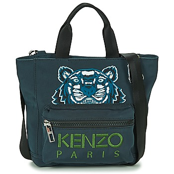 Táskák Női Bevásárló szatyrok / Bevásárló táskák Kenzo KANVAS TIGER MINI TOTE Szürke
