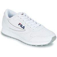 Cipők Férfi Rövid szárú edzőcipők Fila ORBIT LOW Fehér