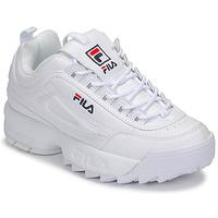 Cipők Női Rövid szárú edzőcipők Fila DISRUPTOR LOW WMN Fehér