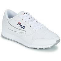 Cipők Női Rövid szárú edzőcipők Fila ORBIT LOW WMN Fehér