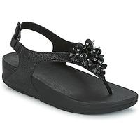 Cipők Női Szandálok / Saruk FitFlop BOOGALOO BACK STRAP SANDAL Fekete