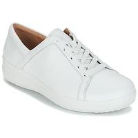 Cipők Női Rövid szárú edzőcipők FitFlop F-SPORTY II LACE UP SNEAKERS Fehér
