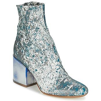 Cipők Női Bokacsizmák Now LUNA Kék