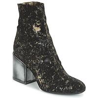 Cipők Női Bokacsizmák Now LUNA Fekete
